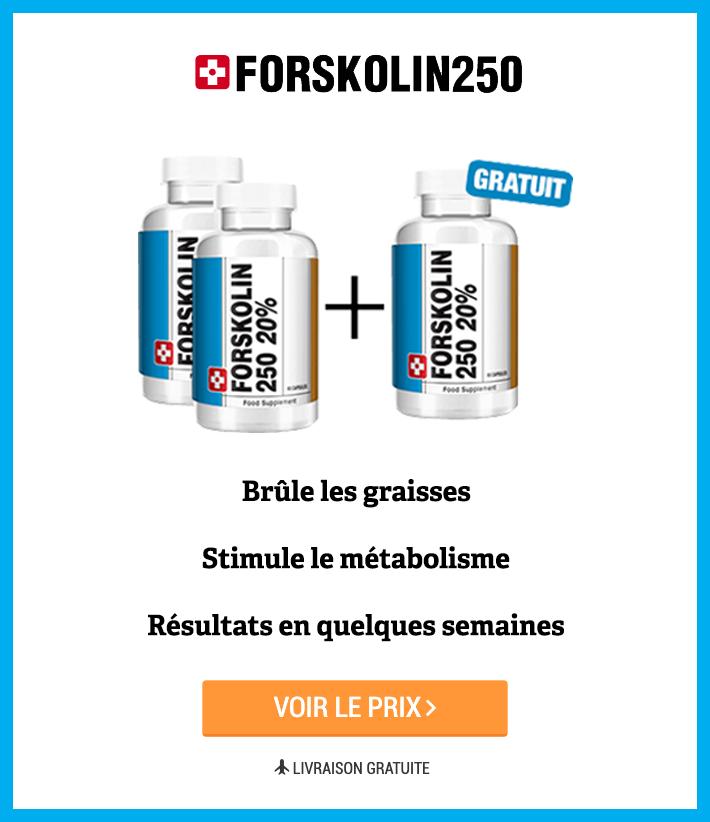 Bénéfices de Forskolin 250